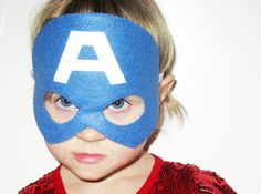 25 felt Superhero Masks party pack YOU CHOOSE by FeltFamily