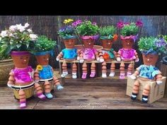 Clay Pot Flower People █▬█ █ ▀█▀ - YouTube