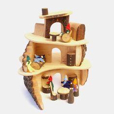 """Puppenhaus """"Baumhaus"""" aus Holz   Echtkind"""