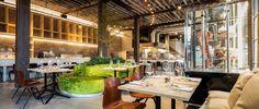 In het oude koetshuis te midden van de groene oase die Park Spoor Noord is, huist het gloednieuwe restaurant Gå Nord. Zaakvoerders Nikolaj Kovdal en Sven Wille, de mannen achter Cargo Zomerbar, raakten geïnspireerd door de oosterse wabi-sabi filosofie en esthetiek: 'eenvoud' is het sleutelwoord. Voor hun Amsterdamse chef-kok Timothy Tynes, die een eigen vertaling