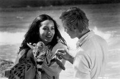 Barbara Carrera & Michael York.