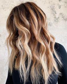 Chunky Blonde Highlights, Platinum Blonde Balayage, Bright Blonde, Brown Blonde Hair, Hair Color Balayage, Fall Blonde Hair Color, Strawberry Blonde Hair Color, Full Balayage, Caramel Blonde Hair