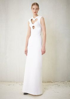 #Spring2013 #Resort #Fashionologie  Can't go wrong with a classy long dress. The cutout making it a little more different.