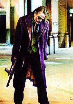 The Joker by Trev Murphy.....I'm developing a serious joker fetish....