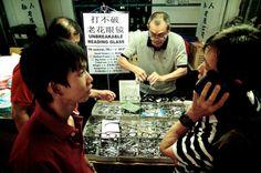 Unbreakable Reading Glass, Chinatown CNY Festive Street Bazaar 2013, Singapore