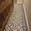 Tile shop in Derby supplying slate, marble, mosaic, porecelain, terracotta and victorian tiles for bathrooms and kitchens Hall Tiles, Tiled Hallway, Entryway Flooring, Hall Flooring, Black Laminate Flooring, Vinyl Flooring, Hallway Designs, Hallway Ideas, Victorian Tiles Bathroom