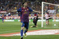 Con el sello de Messi, Barcelona aplastó al Athletic de Bielsa!!!!!!
