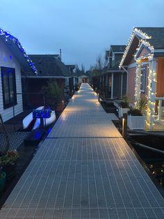 Portage Bay, Floating Homes, Lake Union, Seattle, Fleetwood Homes, Floating House