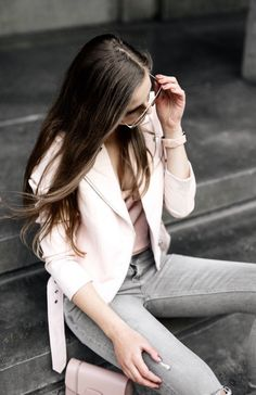 OOTD - Pastel and Blush pink