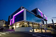 Architectural Lighting Design - Watercare House, Newmarket, New Zealand