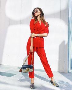Уличная мода: Евгения Полякова Эплбум из ОАЭ: зимние аутфиты 2018