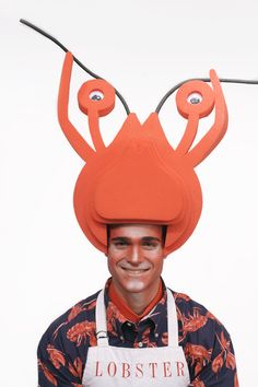 Dress as a a rockin' red lobster this Halloween with Chris March's Big Fun wig collection only at Target.