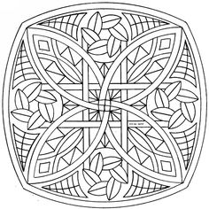 Geometric Abstract Coloring Pages | Download Geometric coloring ...