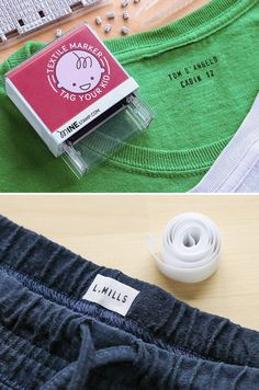 Prepare your kids for school or camp with this custom stamping kit. Using wash-resistant textile ink, Minestamp helps you clearly label notebooks, book bags, articles of clothing and more with one click. Customize up to three lines of text, with a full set of letters and numbers included.