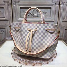 Louis Vuitton Damier Azur Canvas Girolata Bucket Bag N41579