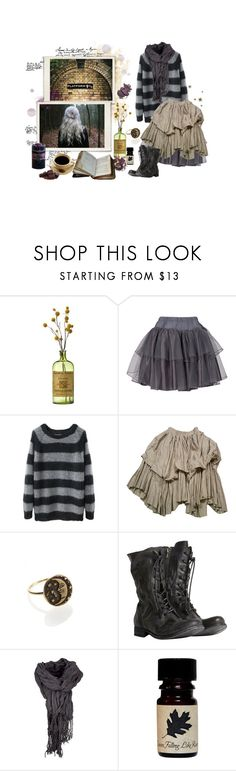 """""""platform 9 and 3/4"""" by lilafairy ❤ liked on Polyvore featuring The Tao of Tea, GAIL BERRY, Rika, AllSaints and By Terry"""