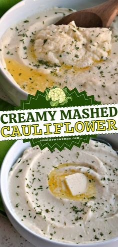 Want to serve up a low-carb, keto-friendly Thanksgiving side dish? Learn how to make Mashed Cauliflower! This Thanksgiving dinner recipe is so easy. Deliciously creamy and cheesy, everyone will like this cauliflower mash more than the spuds!
