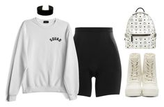 """WHITE x BLACK"" by alexannaloro on Polyvore featuring SPANX, Lulu*s, adidas Originals and MCM"