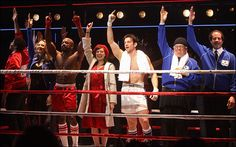 Rocky Musical, Starring Andy Karl as Rocky Balboa, Opens on Broadway; Red Carpet Arrivals, Curtain Call and Cast Party - Photo - Playbill.com