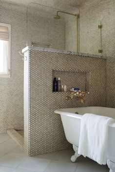 tiles - brass   by studio mrs