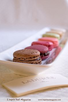 Laduree Paris macarons. Yes please.