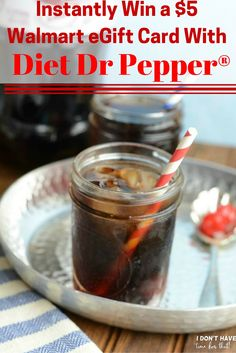 Instantly Win a $5 Walmart eGift Card With Diet Dr Pepper®! #ad