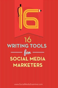 Do you create copy for social media posts?  Whether you work on your own or with a team, there are tools that make it more likely your social media posts will publish without errors and with correct word counts.  In this article youll discover 16 writing