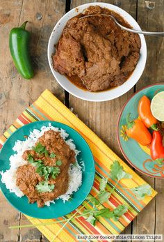 ... on Pinterest | Crockpot, Dump cake recipes and Thai chicken curry