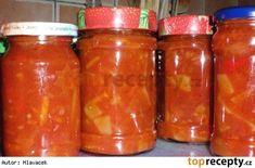 Uncel bens ;-) Pavlova, Preserves, Pesto, Salsa, Smoothie, Cooking Recipes, Jar, Homemade, Canning