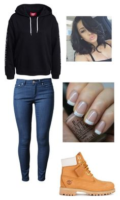 """""""Untitled #642"""" by hdflynn ❤ liked on Polyvore featuring Timberland, Acne Studios and OPI"""