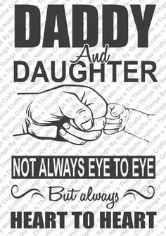 Daddy and Daughter SVG by CraftsnThingsByNelly on Etsy