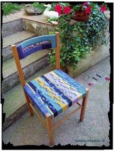 sedia intrecciata  mano