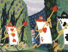 Alice in Wonderland Concept Art - Mary Blair