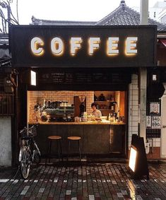 Aesthetic coffee shops names: coffee shop, coffee shop. Coffee Break, Coffee To Go, Espresso Coffee, Coffee Shop Names, My Coffee Shop, Coffee Cafe, Coffee Shops, Coffee Shop Signage, Cafe Restaurant