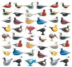 Showing at Matsuya Design Gallery. An exhibition featuring 30 works by Oiva Toikka, a old Finnish designer who makes crystal birds. Art Beat, Glass Birds, Glass Collection, Old Toys, Finland, Glass Art, Old Things, Pottery, Abstract