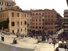 Spanish Steps (Piazza di Spagna), via Flickr.