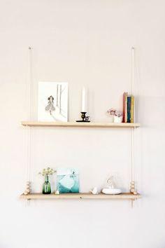 DIY etagere balancoire