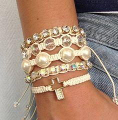 kit bracelet shamballa