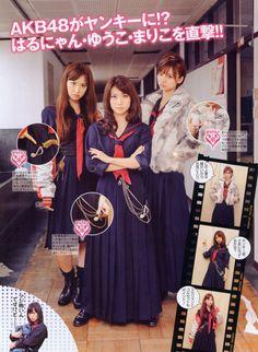 """""""Fuck Yeah Sukeban"""" girl gang Japan bad-ass modest dressers"""
