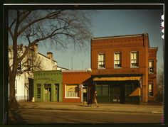 Rare Color Photos Of Main Street From The 1940s#slide=1450175 Washington Dc between 1941 and 1942