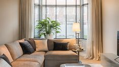 """Like the """"sfeer. Is warm somehow Contemporary Interior Design, Interior Design Living Room, Living Room Inspiration, Interior Inspiration, Home Living Room, Living Room Decor, Front Rooms, Stores, Home Fashion"""