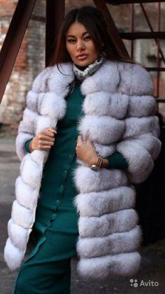 FUR White Fur, Fur Fashion, Fox Fur, Furs, Asian Woman, Fur Coat, Passion, My Style, Jackets