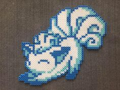 Pokémon: Stretching Alolan Vulpix Perler Bead Pattern – Decor Ideen Po… – Famous Last Words Bead Embroidery Patterns, Bead Crochet Patterns, Pearler Bead Patterns, Perler Patterns, Weaving Patterns, Mosaic Patterns, Painting Patterns, Color Patterns, Art Patterns
