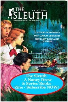 Nancy Drew, Collecting Nancy Drew books, Nancy Drew conventions, Mildred Wirt Benson, Nancy Drew News - sleuth for clues about anything Nancy Drew.