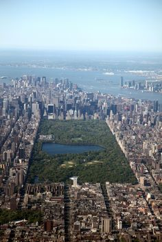 Central Park Aerial, New York City
