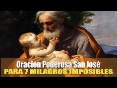 ORACIÓN PODEROSA PARA 7 PETICIONES DE MMILAGRO  A SAN JOSE - YouTube