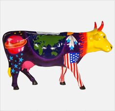 My favorite!  Title: Space Cow   Artist: Andrew Cerjanic