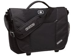 "OGIO Upton 17"" Laptop / MacBook Pro Black Messenger Bag  OGIO Messenger - New #OGIO #MessengerShoulderBag"