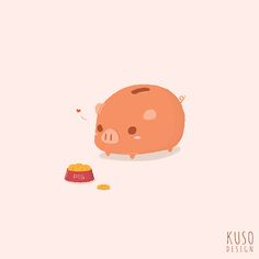 Piggy Bank by kusodesign.deviantart.com on @DeviantArt