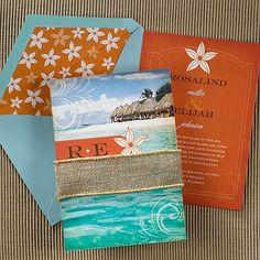 Ocean Breeze Invitation